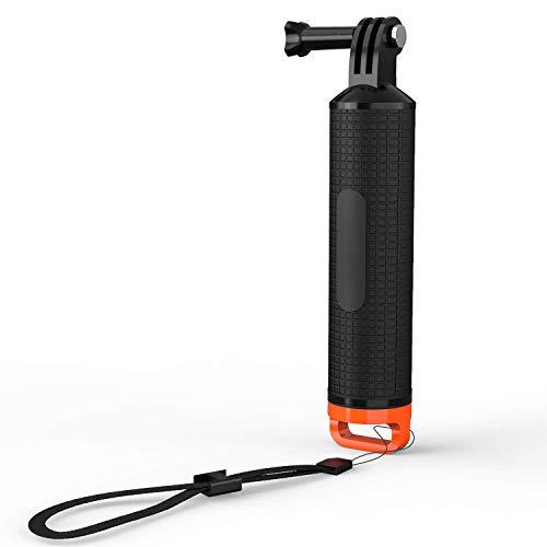 Bastone di galleggiamento nero per COOAU Action Cam