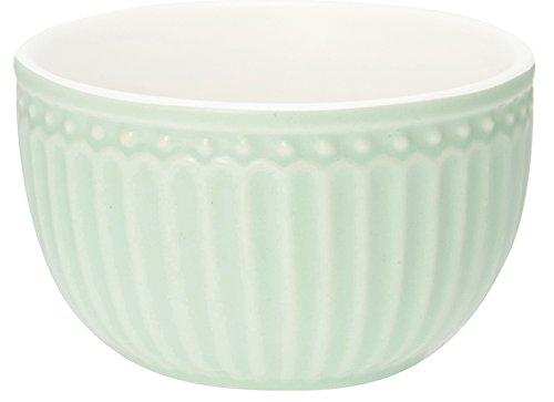 Greengate STWMBOAALI3906 Alice Mini Bowl blass grün 8,5 cm