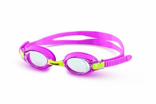 HEAD Meteor Junior Schwimmbrille - Pink/Gelb