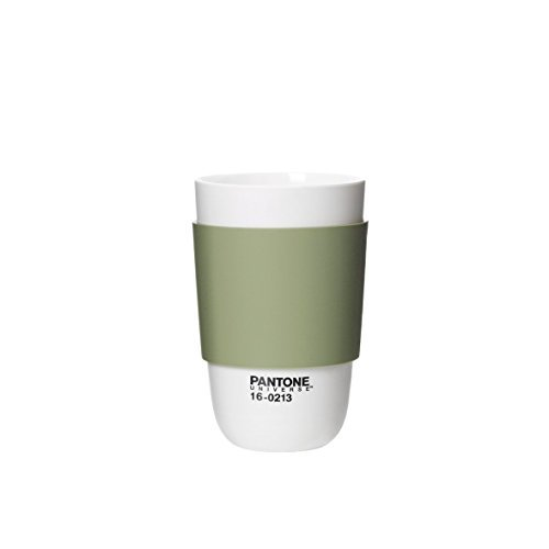 Pantone Universe Classic Cup with Silicone Band, Tea by Pantone Universe