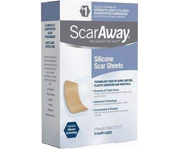 Professional Grade Silicone Scar Treatment Sheets, Prevent...