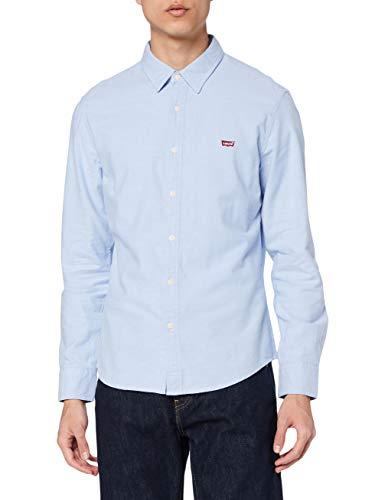 Levi's LS Battery Hm Shirt Slim Camisa, Blue (Allure 0005), XX-Large para Hombre
