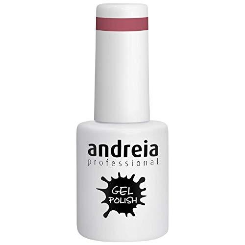Andreia Semi-Permanent Nagellack Gel Poliermittel Farbe 227 Rosa - Rottöne - 10.5 ml