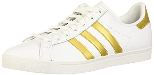 adidas Coast Star, Zapatillas Mujer, Blanco (Footwear White/Gold Metallic/Grey 0), 36 2/3 EU