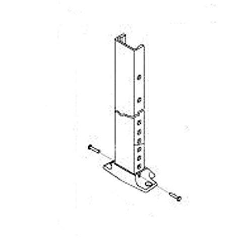 Polar White Tall Straight Side Dometic 8273000.401B Universal Plus Hardware