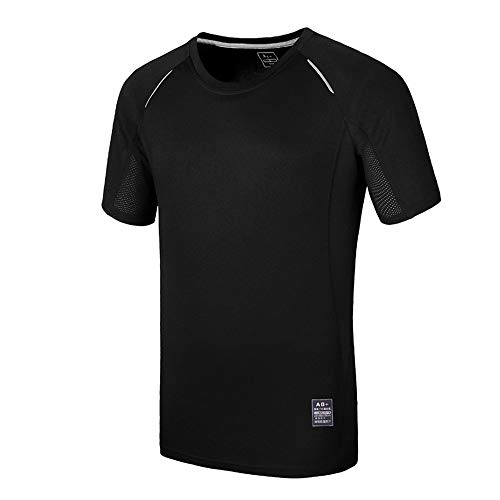 SWISSWELL Men's Cycling Jersey Gradient Color Bike Shirts Short Sleeve Full Zipper Quick Dry with 3 Rear Pockets Black