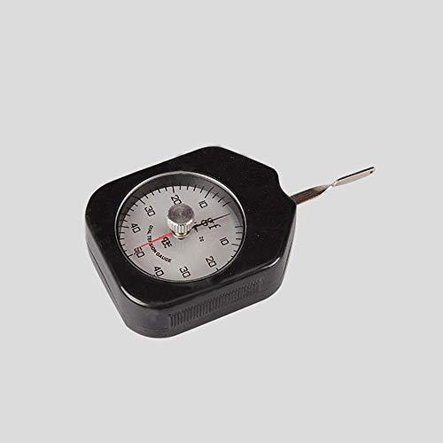 Equipo 0-500g Tensiómetro analógico Puntero único Precio Dial Medidor de tensión Medidor Probador Dinamómetro tabular Medidor de tensión Lateral 50g