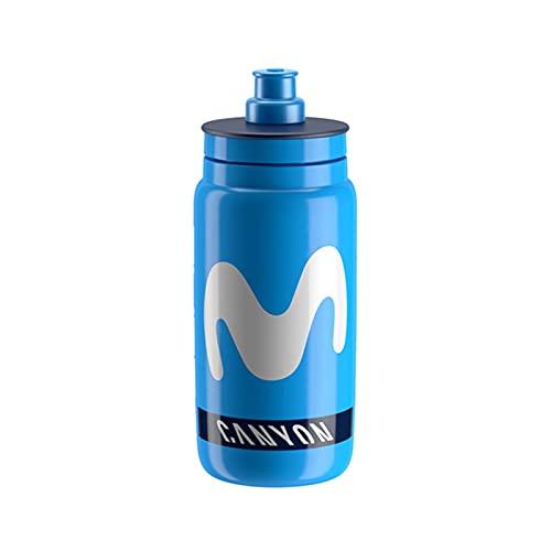 YINHAO Bottiglia di Bicicletta Leggera utilizzata dal World Tour Team 550ml Movistar FDJ (Color : Sky Blue)