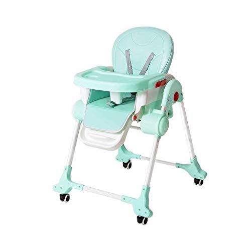 N/Z Living Equipment Verstellbarer Babyhochstuhl Fütterungsstuhl Booster Travel Faltbar Tragbar