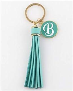 Initial Keychain Crochetaholic Keychain- crochet Charm Personalized Keychain Crochet Keychain Customized Charm Monogram