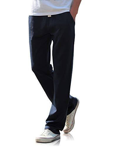 Demon&Hunter WK1 Séries Pantalon Homme Pantalon de Survêtement pour Homme Pantalon Jogging Bleu Foncé DWK3100U-44