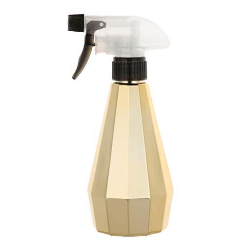 Solustre Vide Lotion Vaporisateur Rechargeable Savon à Main Shampooing Presse de Coiffure Pompe Pompe Distributeur Liquide Cosmétique Brume Atomiseur pour Salon Maison (Doré)