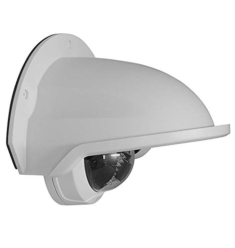 SDS DS-1250ZJ Universal Sun Rain Shade Camera Cover Shield Cover Shield for Nest/Ring/Arlo/Dome/Bullet Outdoor Camera (1 Pack, White)