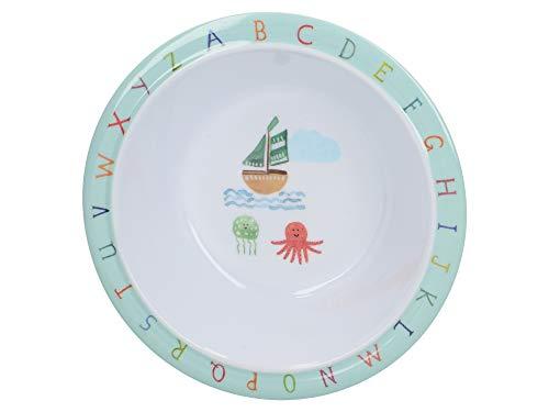 Creative Tops C000579 Cuenco creativo para niños/bebés con diseño de alfabetos, melamina