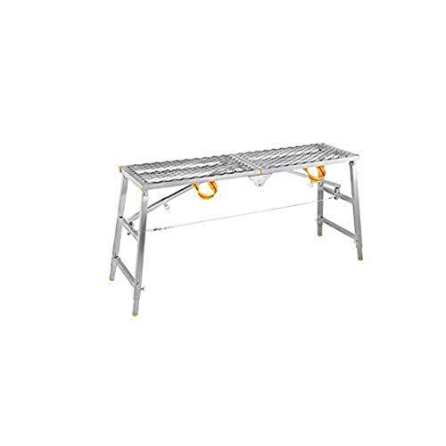 CKQ-KQ Ladder Vouw multifunctionele Thicken Decoration Portable Horse Kruk Rise Drop Steiger Techniek Platform Kruk Ladder (Color : 180cm*30cm)