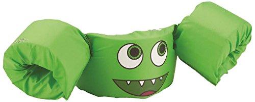 Sevylor Schwimmflügel Puddle Jumper, für Kinder und Kleinkinder von 2-6 Jahre, 15-30kg, Schwimmscheiben, grün