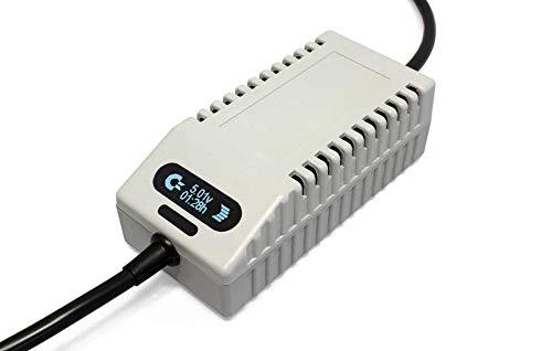 C64 PSU OLED Digital Gray EU - Ersatz-Netzteil für Commodore 64, EU-Stecker