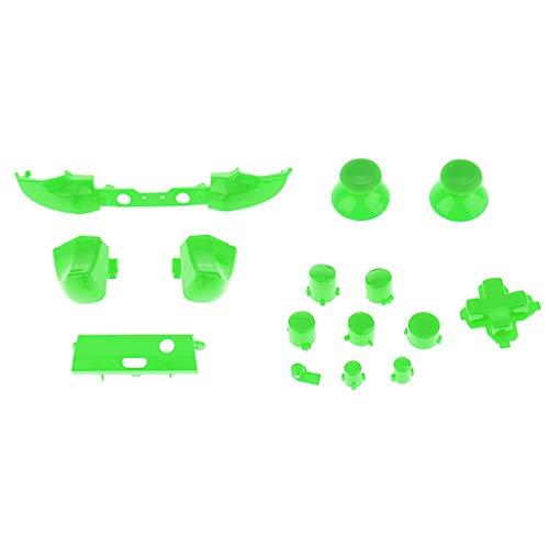 MERIGLARE Buttons Analog Joystick LB RB LT RT Mod Kit para Xbox One S Controller - Verde