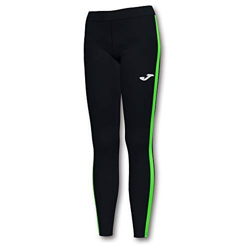 Joma Elite VII Malla Running, Unisex Adulto, Negro-Verde Fluor, XL