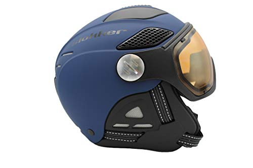 Slokker SKIHELM Raider PRO POLAR4 PHOTOCROMATIC (Night Blue, 55-57)