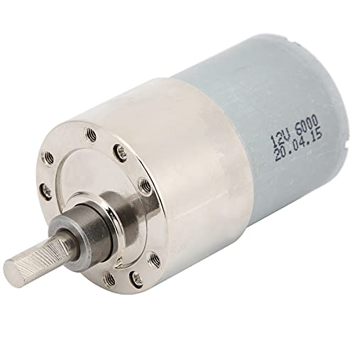 Motoriduttore DC, riduzione del rumore del motore di riduzione della velocità per l'industria militare per macchinari finanziari(300 giri/min)