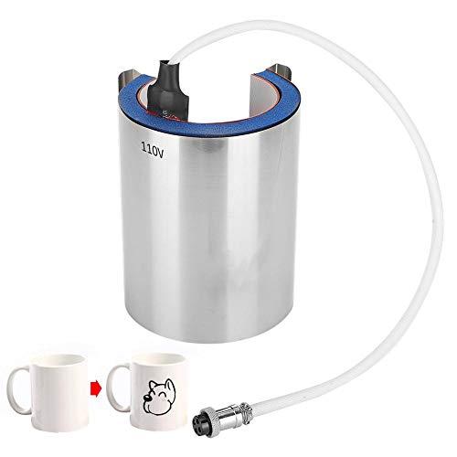 Mug Heat Press Soft Extended Aluminum Pot Mat Heat Pressing Machine Accessories BJ-LH for DIY Mug Printing (110V)