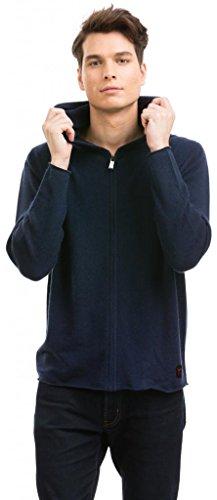 Citizen Cashmere Zip Up Hoodie for Men - Long Sleeve Hoodies (Large, Navy) 42 102-03-03
