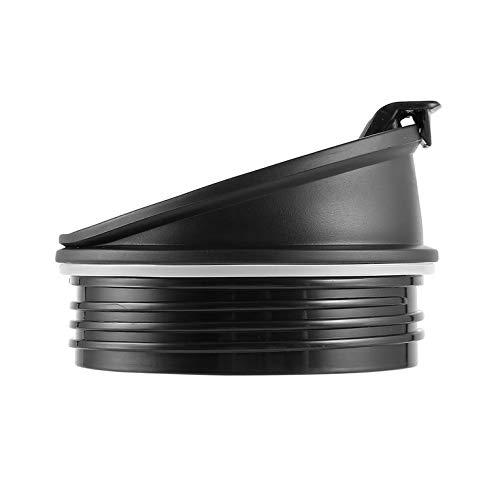 Duurzame Blender Juicer Onderdelen Sport Kunststof Fles Handvat Cup Deksel Goede Seal Ring Houd Verse Juicer Accessoires voor Ninja - Zwart