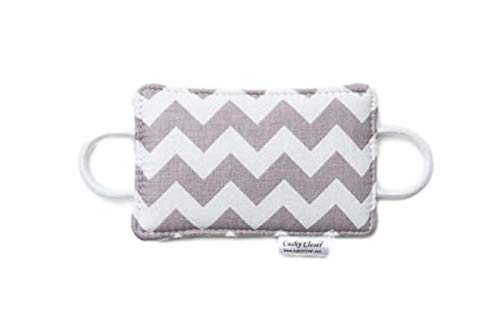 The Original Cushy Closer Door Cushion- Chandler Gray - Chevron | No More Noisy...