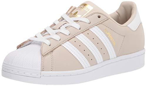 Adidas Originals Superstar - Zapatillas Deportivas para niño, Color Marrón, Talla 39 2/3 EU