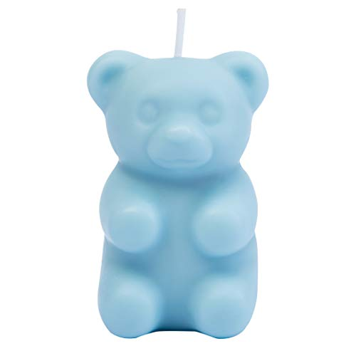 Mysterious Gummy Bear Scented Candle Secret Hidden Inside(Blue)