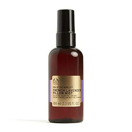The Body Shop Spa Of The World French Lavender Pillow Mist, 100ml (3.3oz)