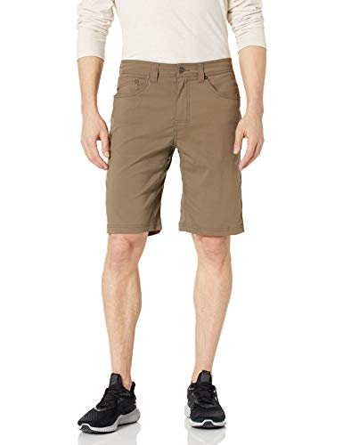 prAna - Men's Brion Lightweight, Water-Repellent, Moisture-Wicking Shorts for Climbing and Everyday Wear, 11