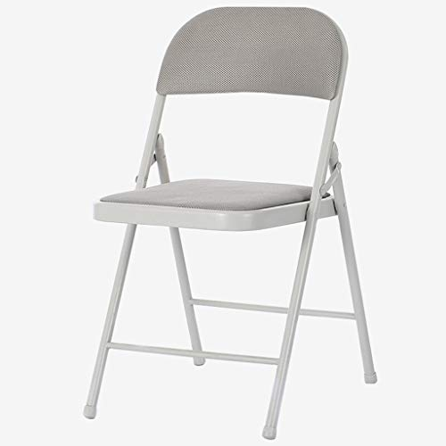 TONG YUE SHOP Chaise Pliante Tabouret Accueil créatif Chaise d'ordinateur Chaise de Bureau Chaise Pliante (Color : White)