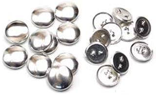 18mm くるみボタン 足付タイプ セット 10個 4パッケージセット ※くるみボタン打ち具は別売