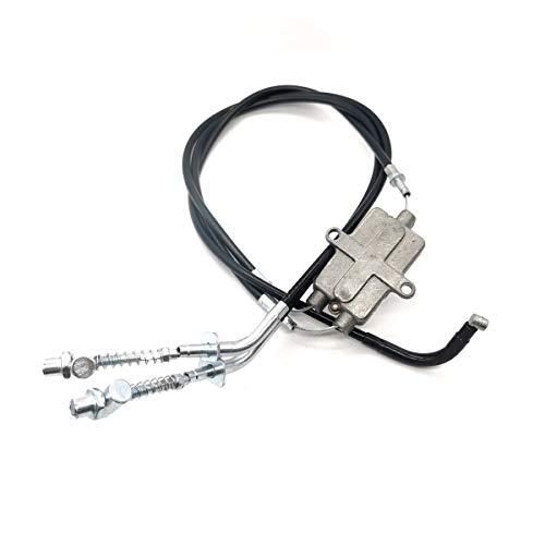 Rxmgf Front Brake Cables for Yamaha ATV Moto 4 YFM200 YFM225 YFM250 YFM350 Replaces: 52H-26361-00-00 / 52H-26371-00-00
