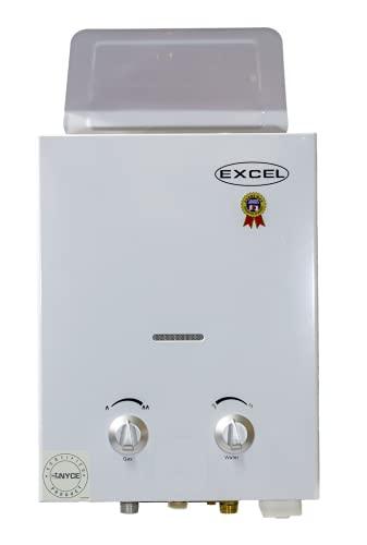 Excel Tankless On-Demand Gas Water Heater VENTFREE – Propane (LPG) - Low Water Pressure Startup