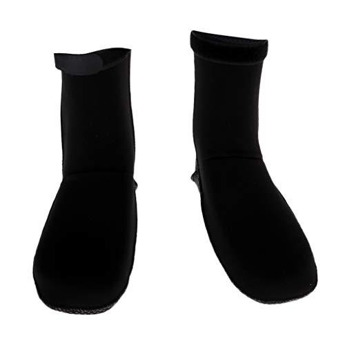 Amagogo Calcetines Cálidos de Neopreno Antideslizante de 3 Mm para Buceo, Deportes Acuáticos, Botas, Zapatos - M