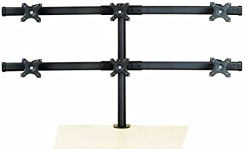 Hex Monitor Stand Curved Arm