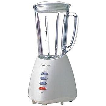 Nevir NVR-8114BV - Batidora de vaso, 350 W, 1, 25 l, color blanco ...