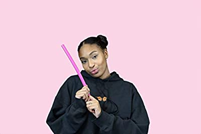 Pink Vocal Tubes for Speech Therapy and Singing Therapy - Straws for Vocal Health - Set of 2 Silicone Tubes for water resistant Voice Therapy and Tube Phonation singing exercises and singing training