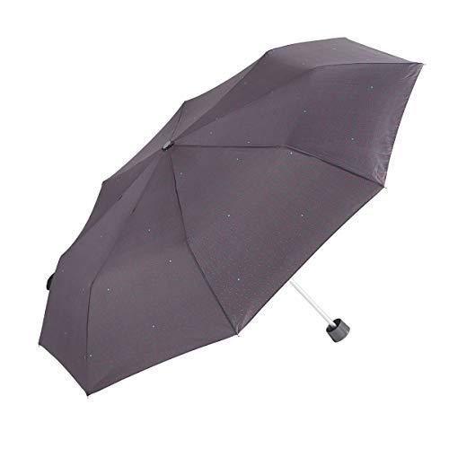 GOTTA Paraguas Plegable de Mujer. Pequeño, Ligero y Manual. Puño Recto de...
