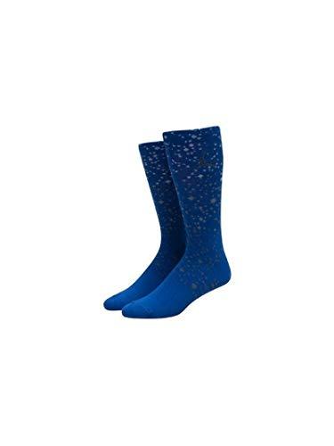 Nike Michael Jordan Speckle Crew Socken XL dunkelviolett (Concord/schwarz)