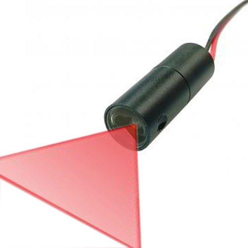 Quarton Industrial 3D-Scanner Line Laser Module VLM-650-30 LPT30-D90 (ángulo de ventilación: 90°)