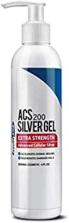 Results RNA ACS 200 Colloidal Silver Gel Extra Strength | Advanced Cellular Silver Topical Gel for Sunburn, Wounds, Rashes, Skin Irritations (8 oz)