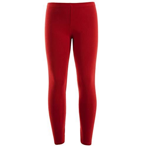 7STYLES - Leggings - niña Rojo rosso 11-12 Años