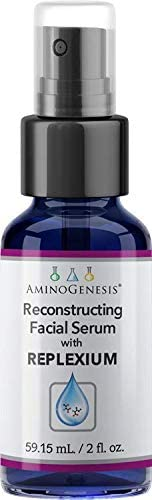 AminoGenesis Reconstructing Facial Serum w Replexium 2 oz Boost Collagen Elastin Peptide Lift product image
