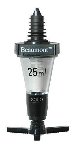 Beaumont - Set di 3dosatori classici per bottiglie da bar - 25ml Optic 3103