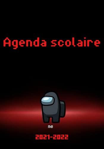 Agenda Scolaire: Agenda 2021-2022 calendrier thème Among us collège lycée étudiant pour planifier une année scolaire réussie