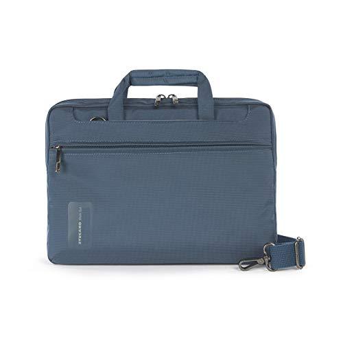 Tucano-Bolsa para Ordenador ,Hombre y Mujer con Bolsillo Para Ordenador Portátil de 11.6 Pulgadas, iPad y Tableta Universal. Bolsa de Oficina y Universidad